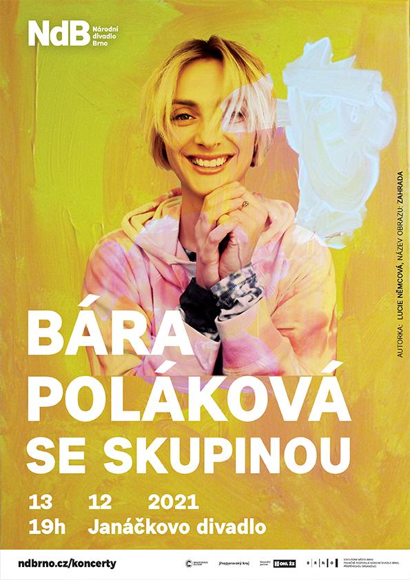 Bára Poláková se skupinou