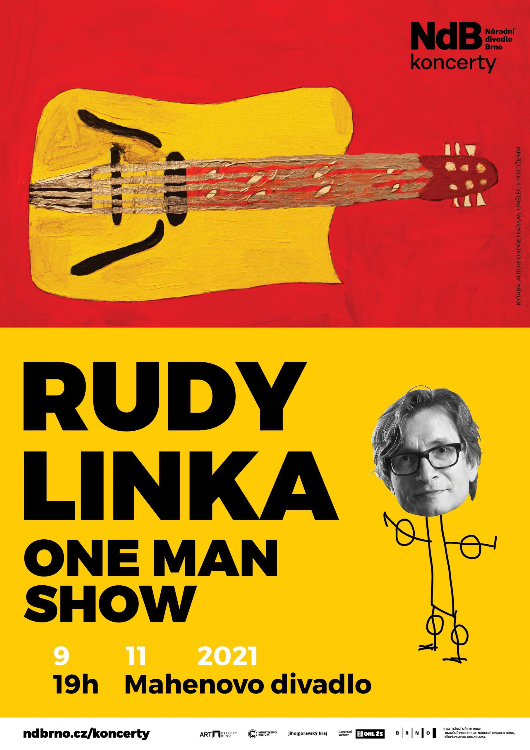 Rudy Linka – One man show