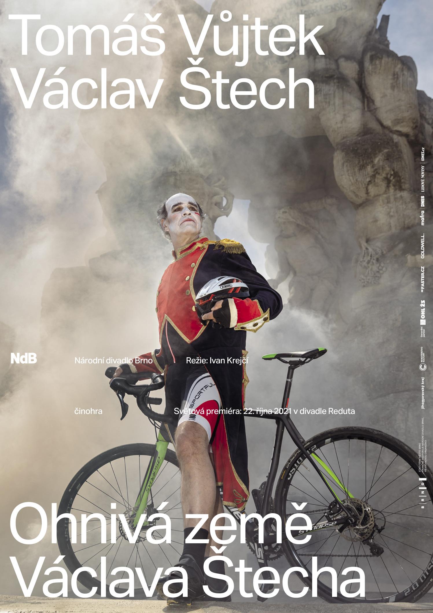 Ohnivá země Václava Štecha