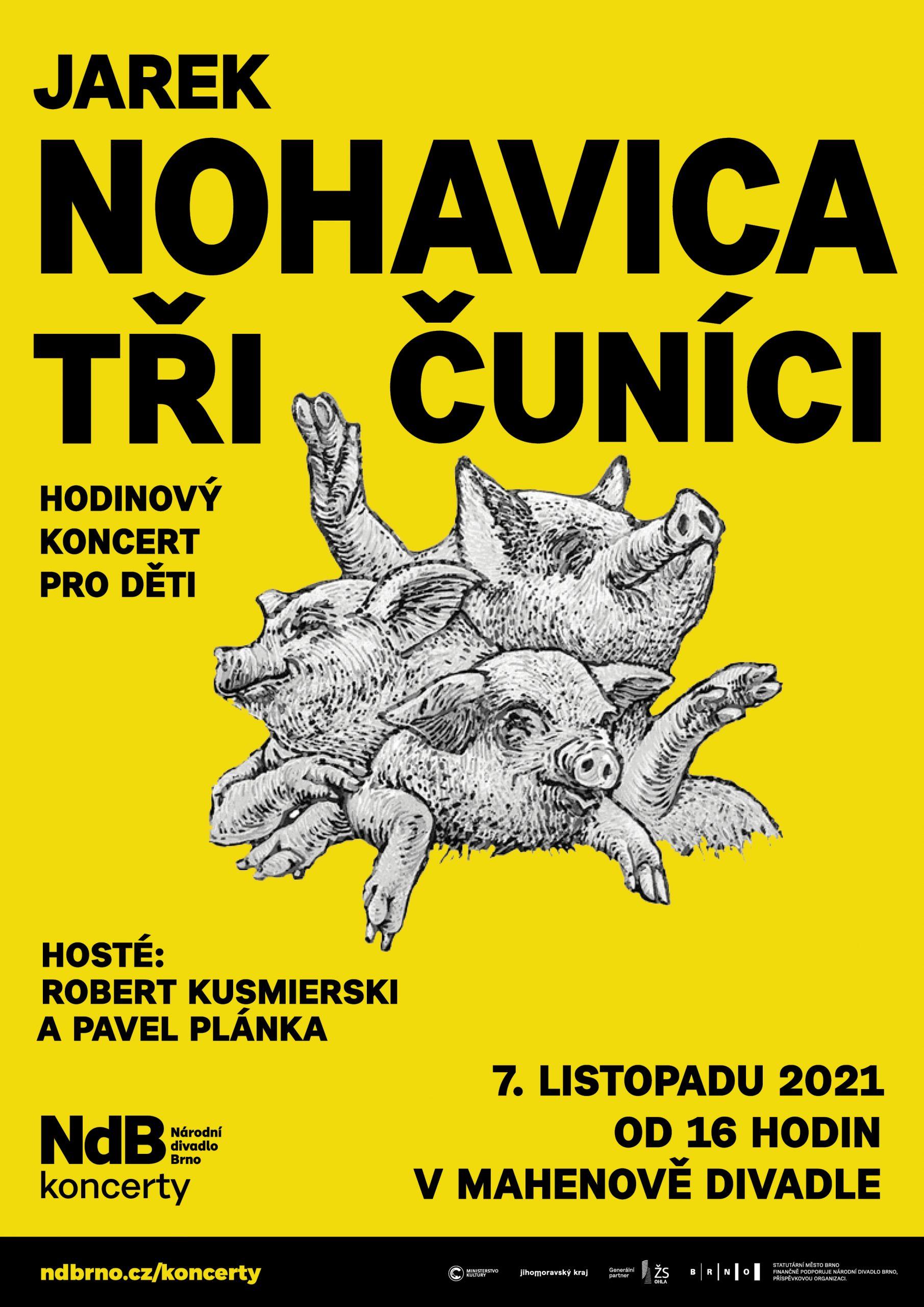 Jarek Nohavica – Tři čuníci